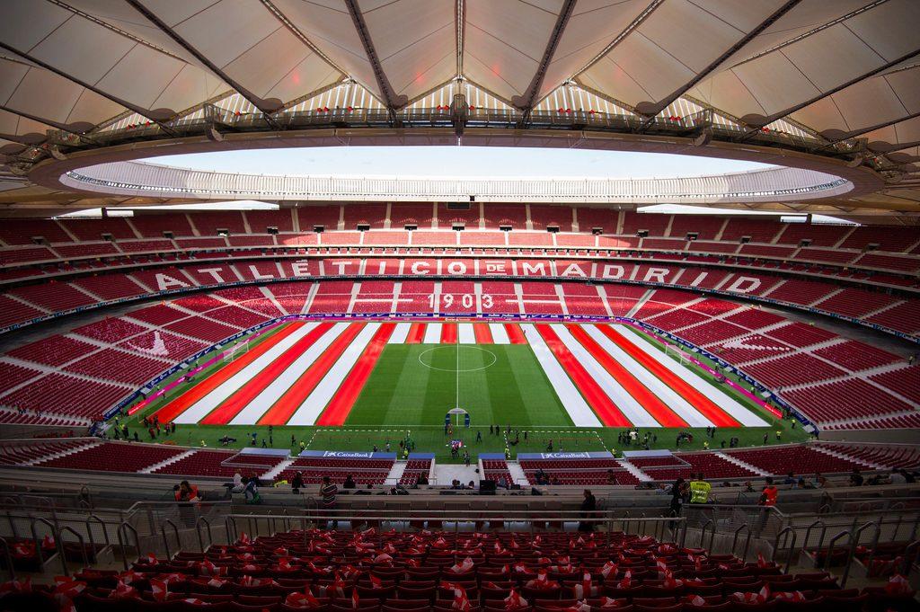 สนาม Estadio Wanda Metropolitano 13/1/2019