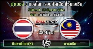 วิเคราะห์ฟุตบอล :ทีมชาติไทย(N) -vs- มาเลเซีย